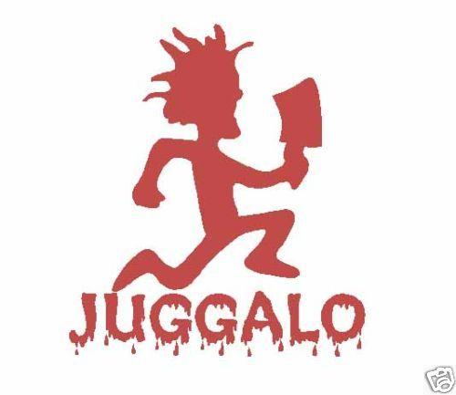 icp juggalo hatchetman hatchet man decal vinyl sticker