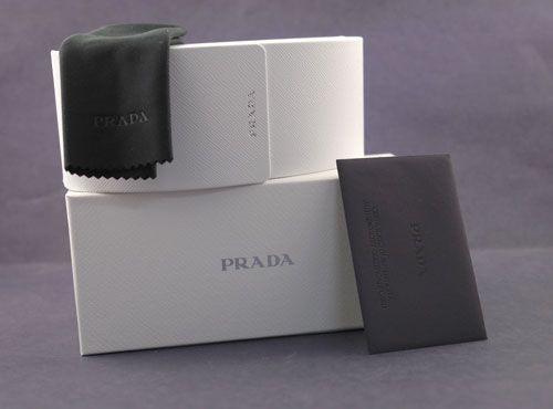 NEW Prada Sunglasses SPR 19M BLACK 1AB 3M1 SPR19M AUTH