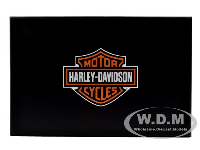 2011 HARLEY DAVIDSON FLHTP SHERIFF GREEN 1/12 BY HIGHWAY 61 81160