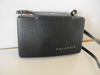 Vintage Polaroid Automatic 100 Land Camera W/Flash, Self Timer, Bulbs