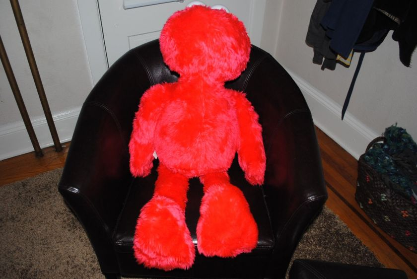Giant Jumbo Life Size Elmo Plush Doll W Tag Huge Sesame Street 3 Foot