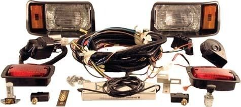 Club Car Golf Cart DS 48 Volt 1993 up Light Kit   Black