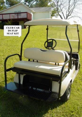 CLUB CAR GOLF CART FLIP SEAT KIT